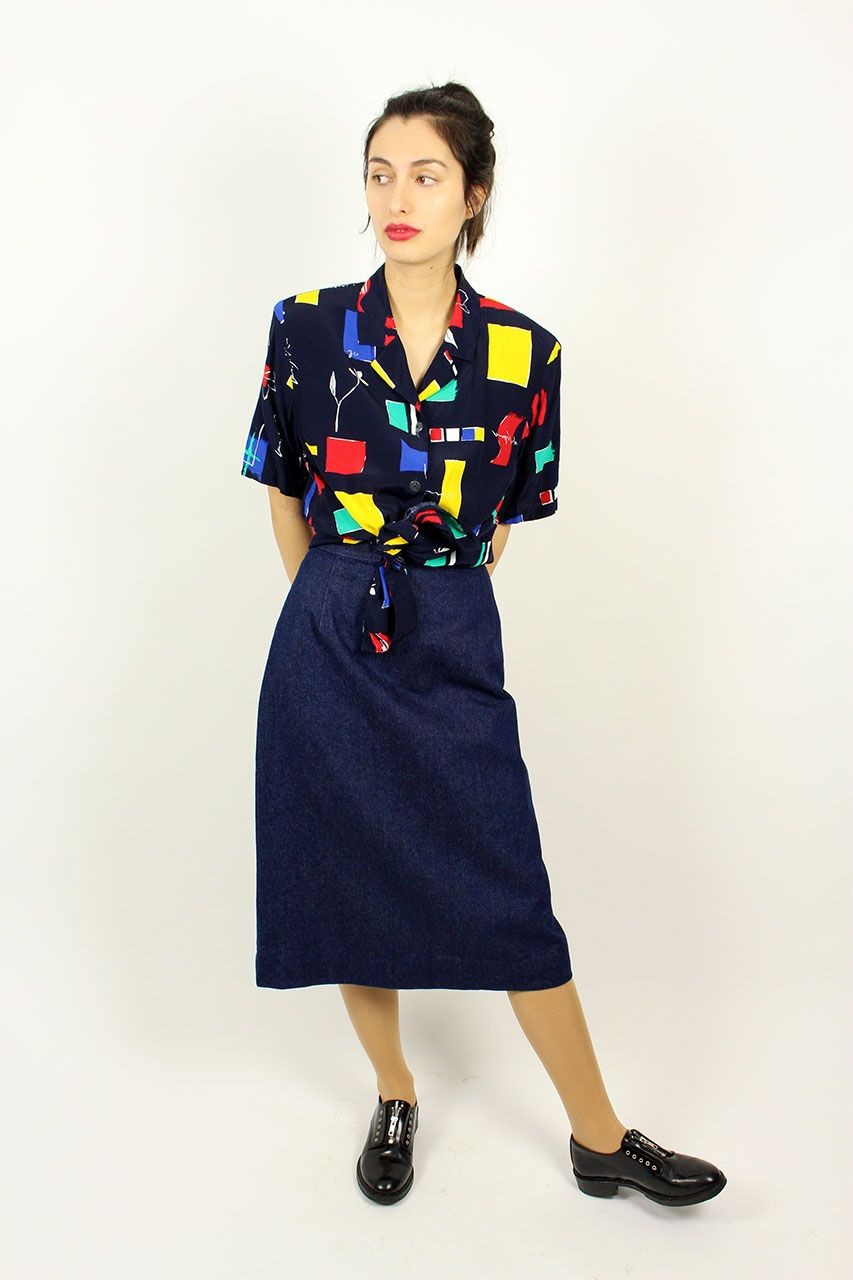 Jessica | Jeans rock, Vintage mode und Rock