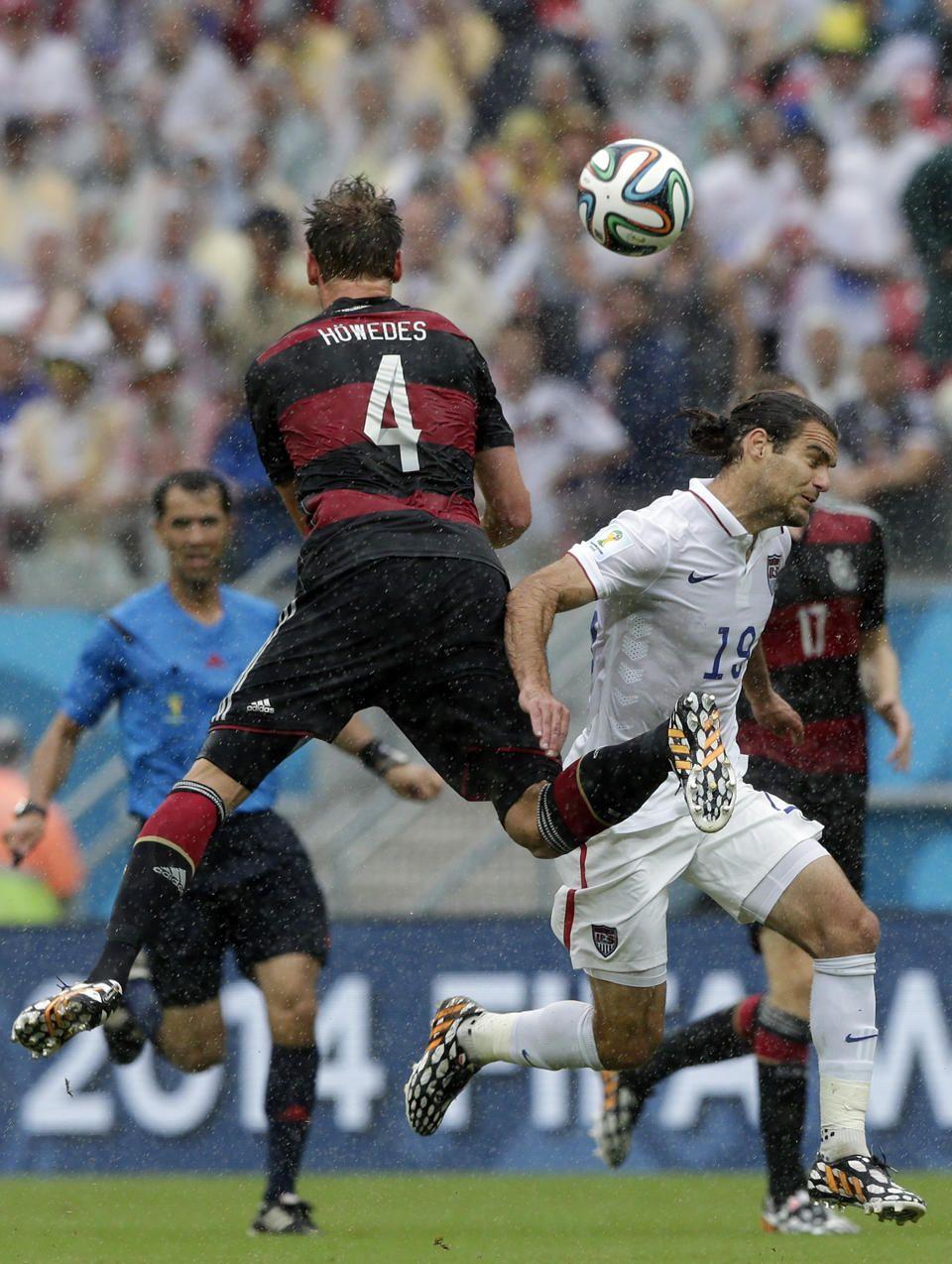 My two worlds collide. Schalke 04's Benedikt Höwedes v