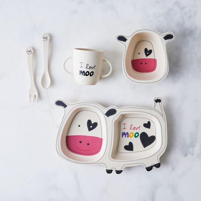 Playful Bamboo Kids Dinnerware Set In 2020 Kids Dinnerware Set Kids Dinnerware Dinnerware Set