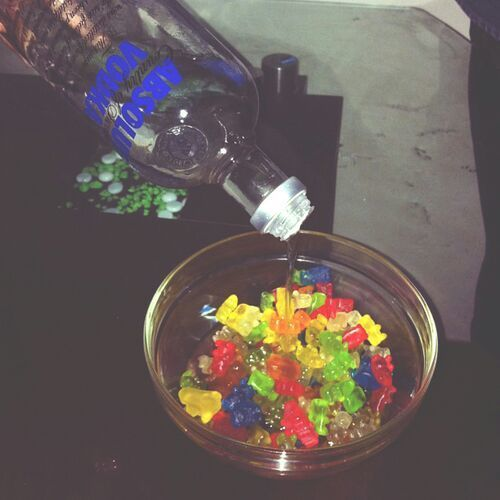 Http Lemme Holla At You Tumblr Com Vodka Gummy Bears Alcohol