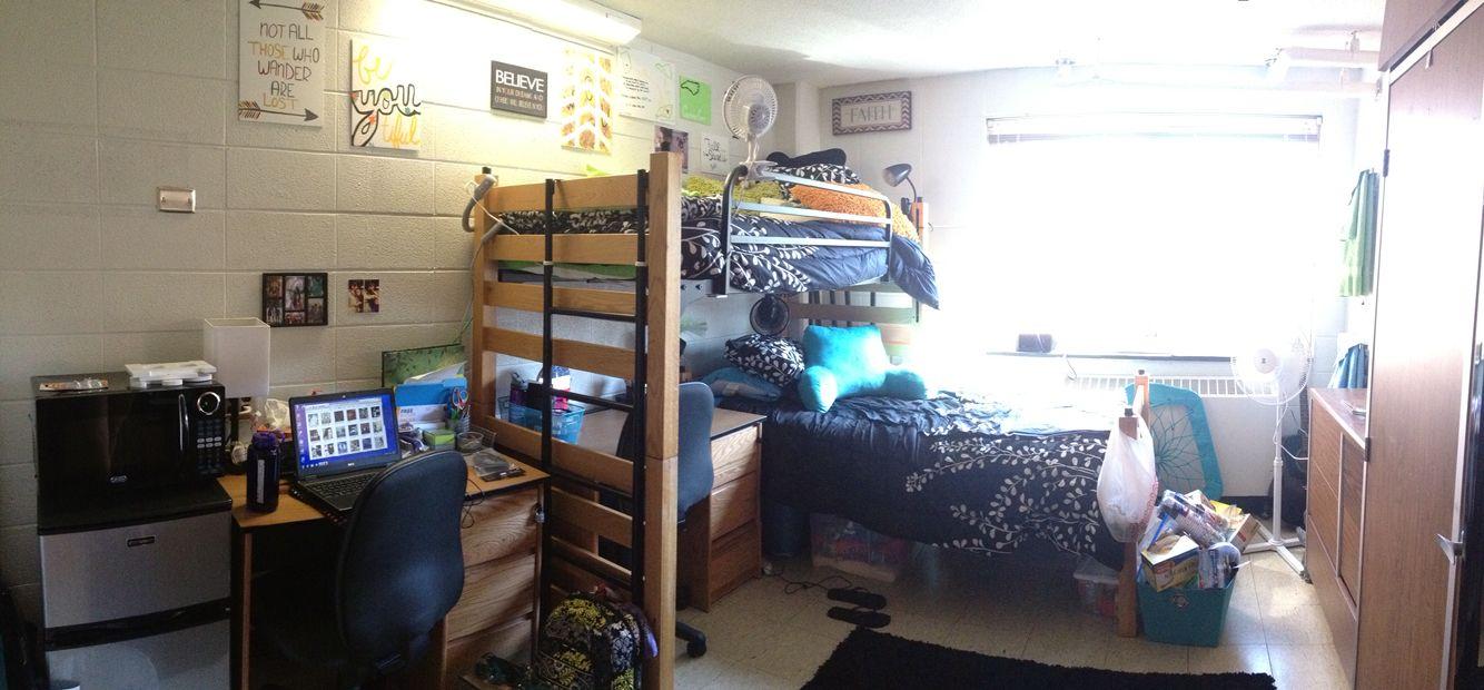 Western Carolina Scott Hall Dorm Room College Decor Dorm