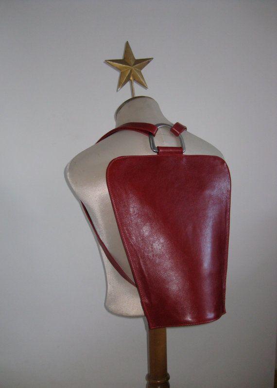 Leather Backpack, Knapsack, Rucksack, Convertible Bag-The Mildred