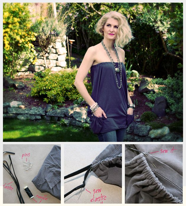 T-Shirt into Summer Top DIY