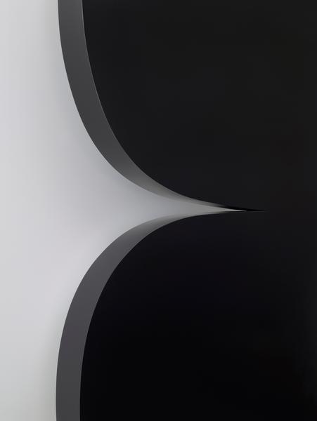 ellsworth kelly black curves detail 2014 painted aluminum 90 x 63 1 2 x 4 1 8 inches 229 x. Black Bedroom Furniture Sets. Home Design Ideas