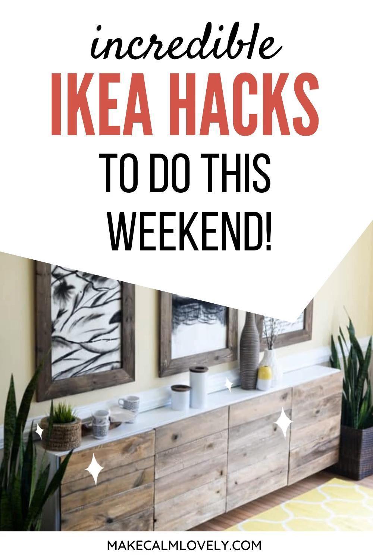 Incredible IKEA hacks you can do this weekend!, #Hacks #IKEA