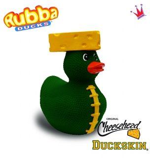 Rubba Duck - Duckskin Cheesehead - American Football - grün
