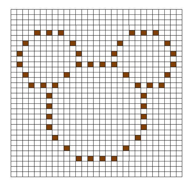 Ravelry: Mouse Bobble Chart by Kari Philpott   siti   Pinterest ...