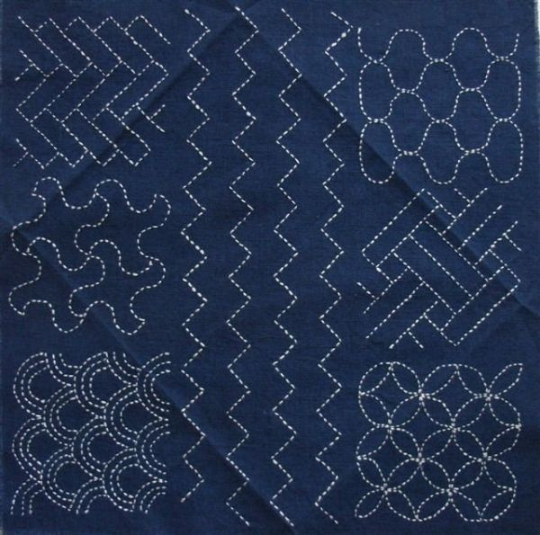 SASHIKO pattern sampler by Massemblage