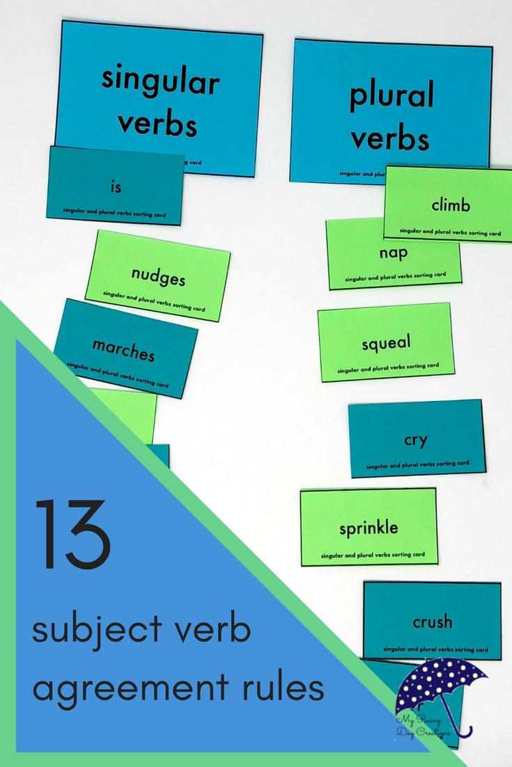 Jan 18 Subjectverb Agreement Blast Subject Verb Agreement