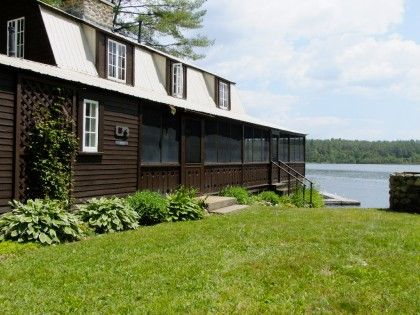 Classic Kezar Lake Cottage Lovell Maine Reminds me of Golden