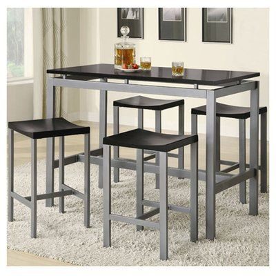 Mercury Row Mcgonigal 5 Piece Pub Table Set Products Counter