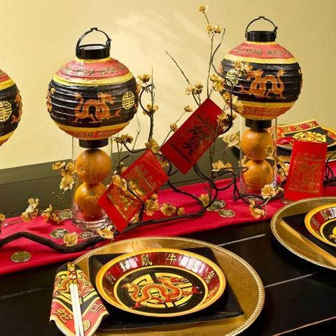 chinese table setting ideas - Google Search & chinese table setting ideas - Google Search   Chinese New Year ...