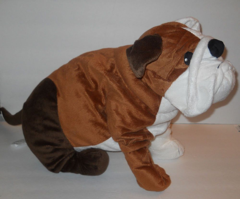 Ikea Large Gosig Bulldog Puppy Plush 21 Very Nice Huge Floppy