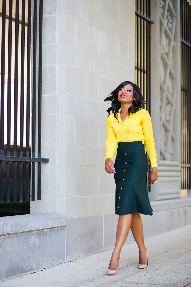 Work Style: Mixing colors (JADORE-FASHION)