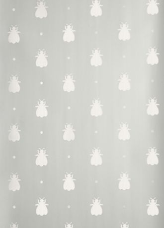 Bumble Bee wallpaper from Farrow and Ball Kitchen