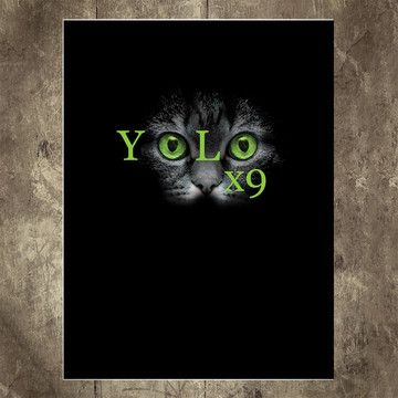 Yolo X9 Poster 18x24, $14, now featured on Fab.