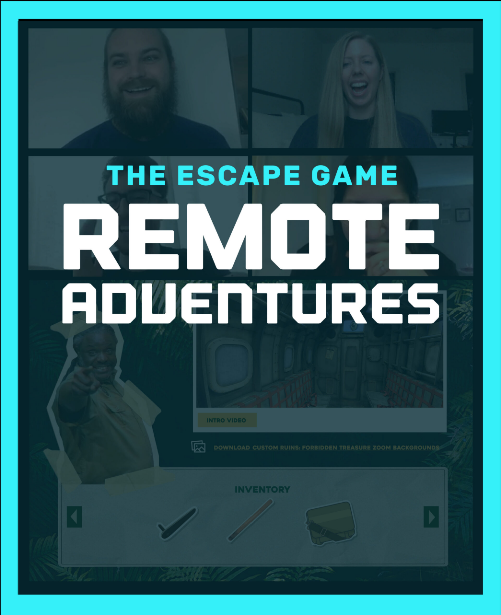 Virtual Escape Room The Escape Game Remote Adventures in