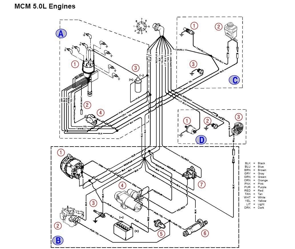 mercruiser ignition wiring diagram diagrams instructions exceptional pertaining to mercruiser ignition wiring diagram [ 1034 x 875 Pixel ]