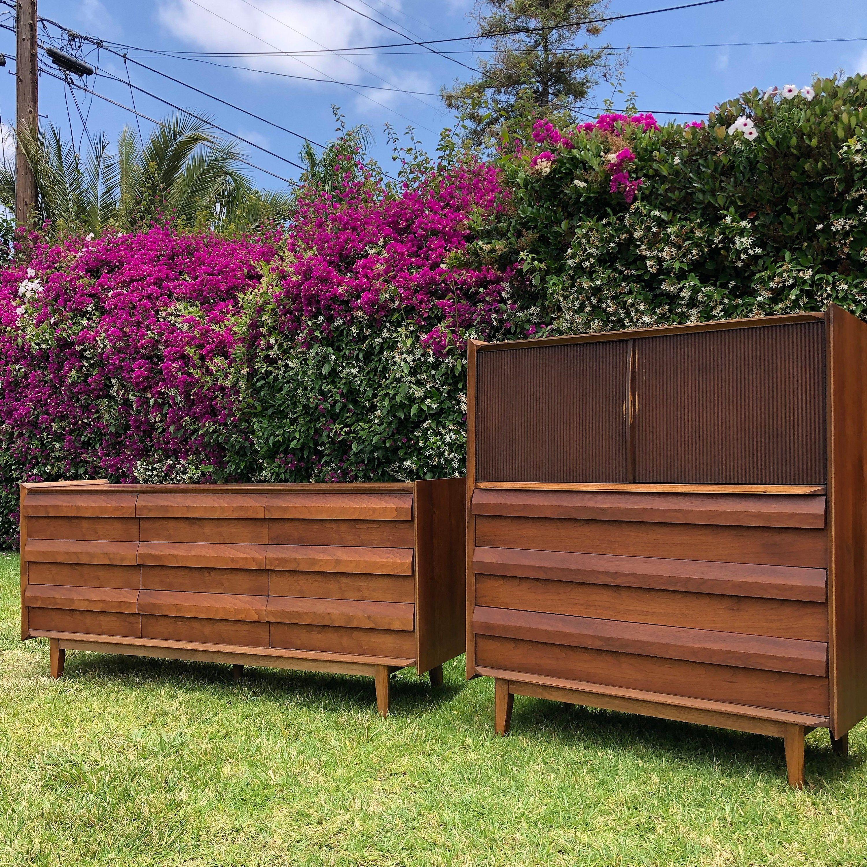 Best Lane First Edition Set Mid Century Modern Dressers 400 x 300