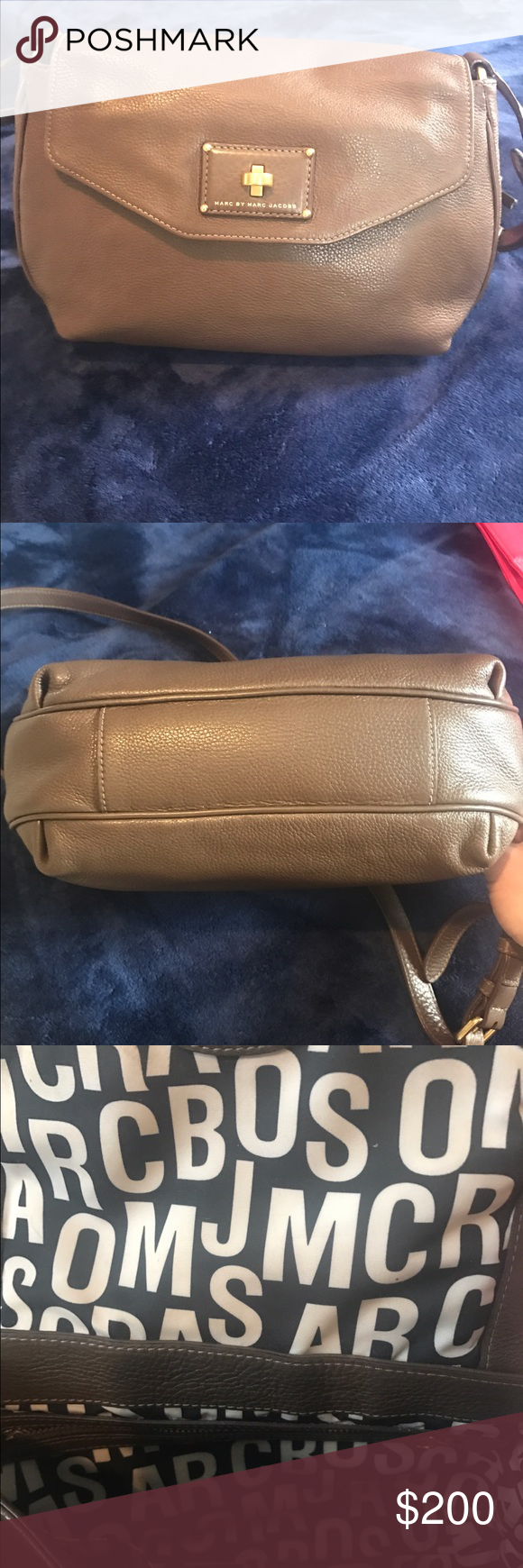 MARC by Marc Jacobs Brown cross body bag MARC by Marc Jacobs cross body. Great condition!! No scratches or stains. Marc by Marc Jacobs Bags Crossbody Bags
