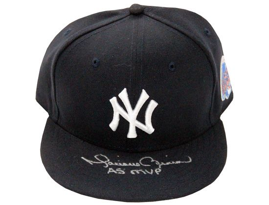Autographed Mariano Rivera as MVP NY Yankees NEW ERA 59Fifty Fitted ... 9645c516e358