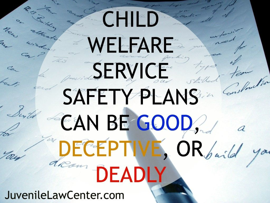 Cps Safety Plans ArenT Always What They Seem To Be Educate