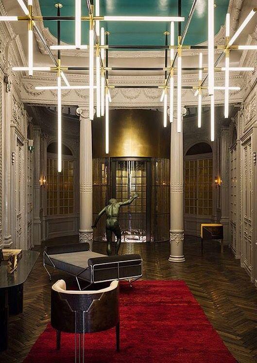 Palazzo priv fendi by studio dimore roma interior for Interior design studio roma