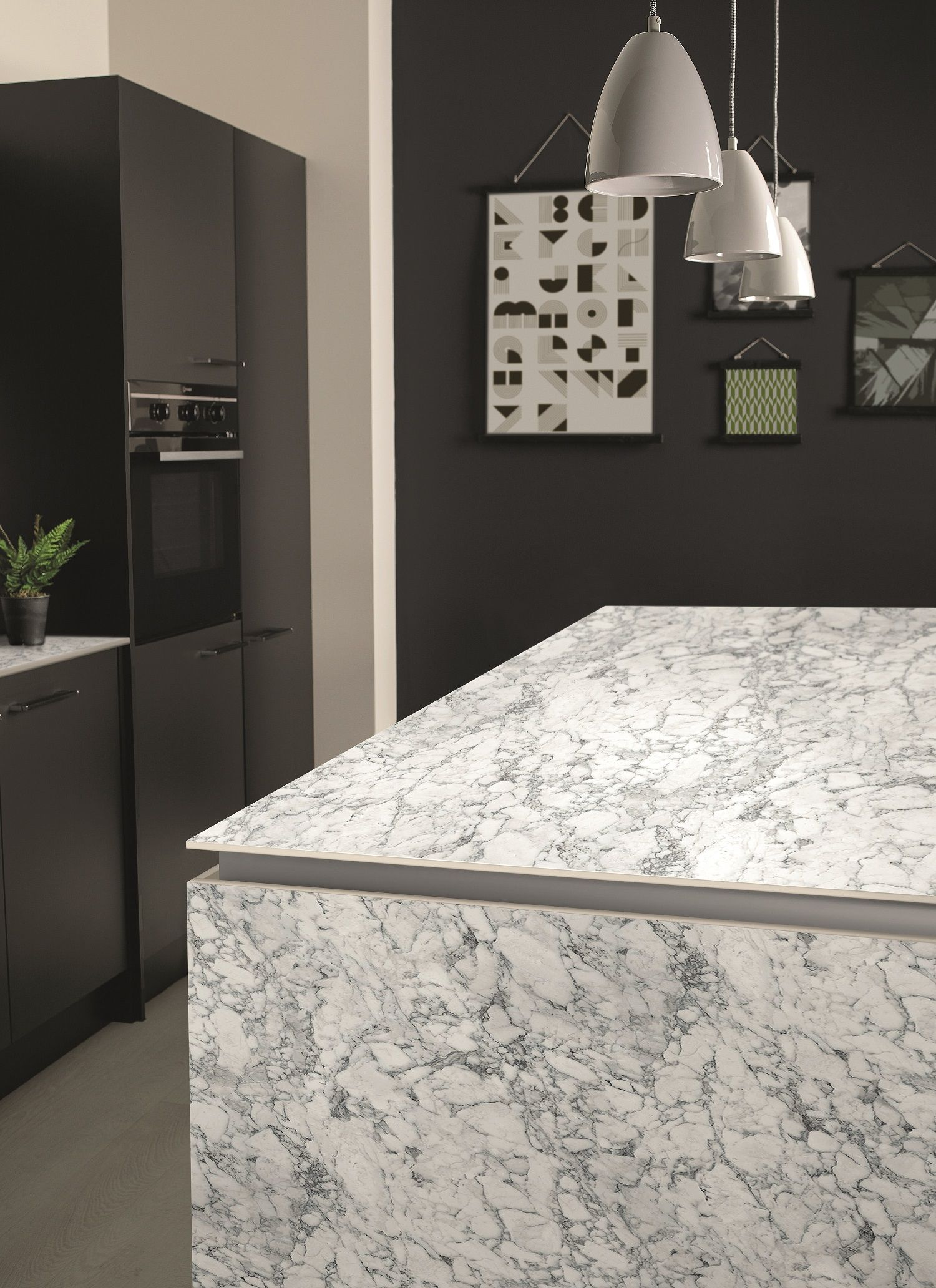 Bushboard Evolve An Ultra Slim Surface For Every Kitchen Kitchens Review Laminate Worktop Interior Modern Kitchen Island