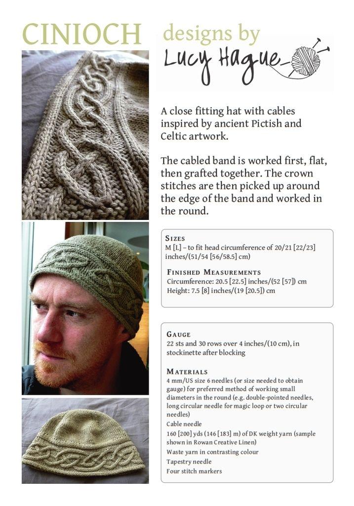 Cinioch-preview | Mützen, Hüte und Schals | Pinterest