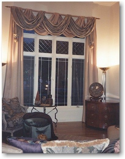 Blind Alley Formal Window Treatments Portfolio Living Room
