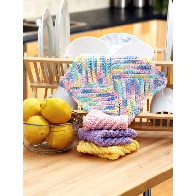 Easy Dishcloth Crochet Pattern | crochet | Pinterest | Puntadas