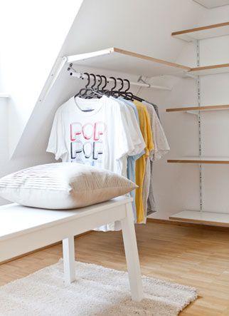 interior design dachschr ge dachschr ge begehbarer kleiderschrank dachschr ge und schrank. Black Bedroom Furniture Sets. Home Design Ideas