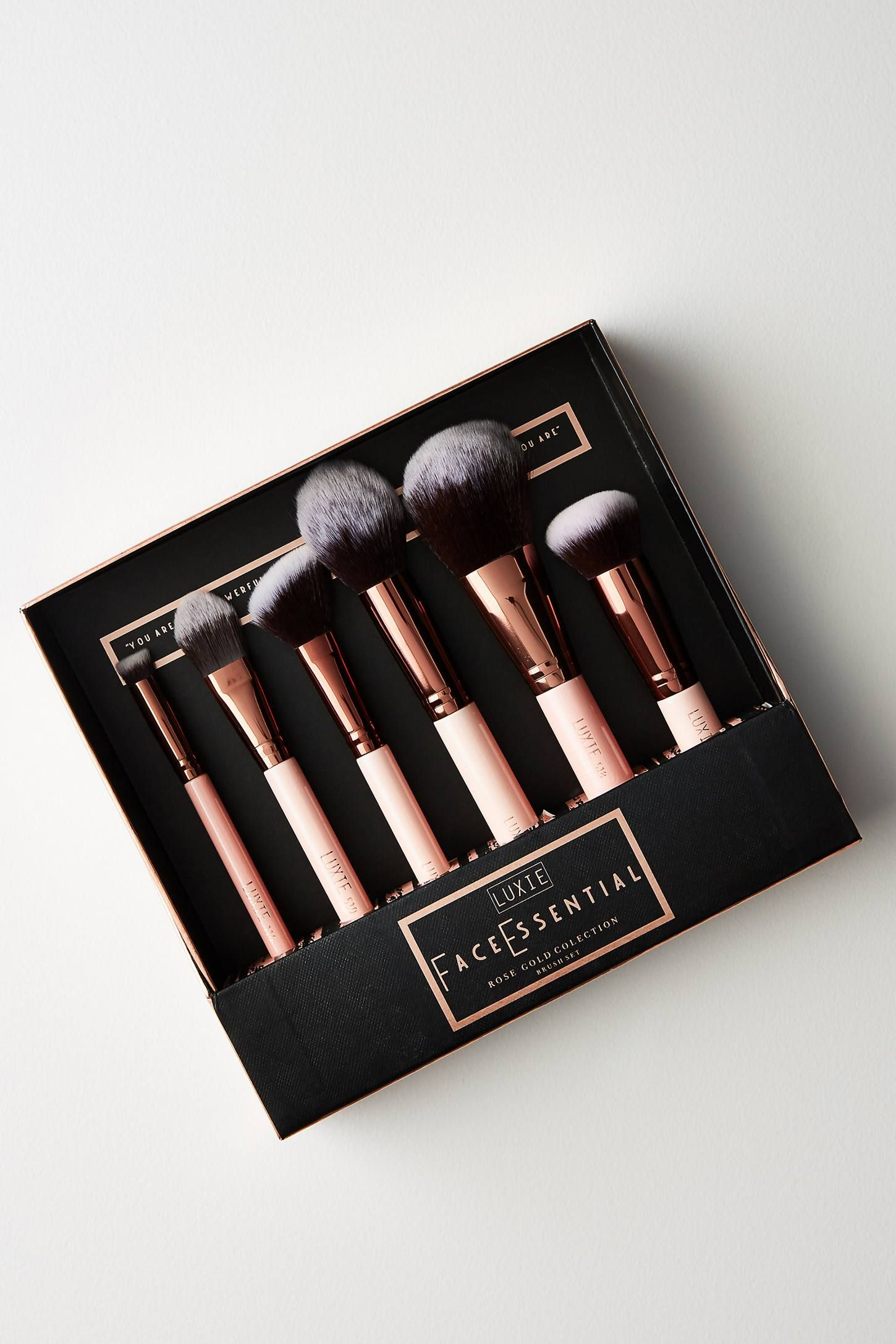 Luxie Face Essentials Brush Set How to apply makeup