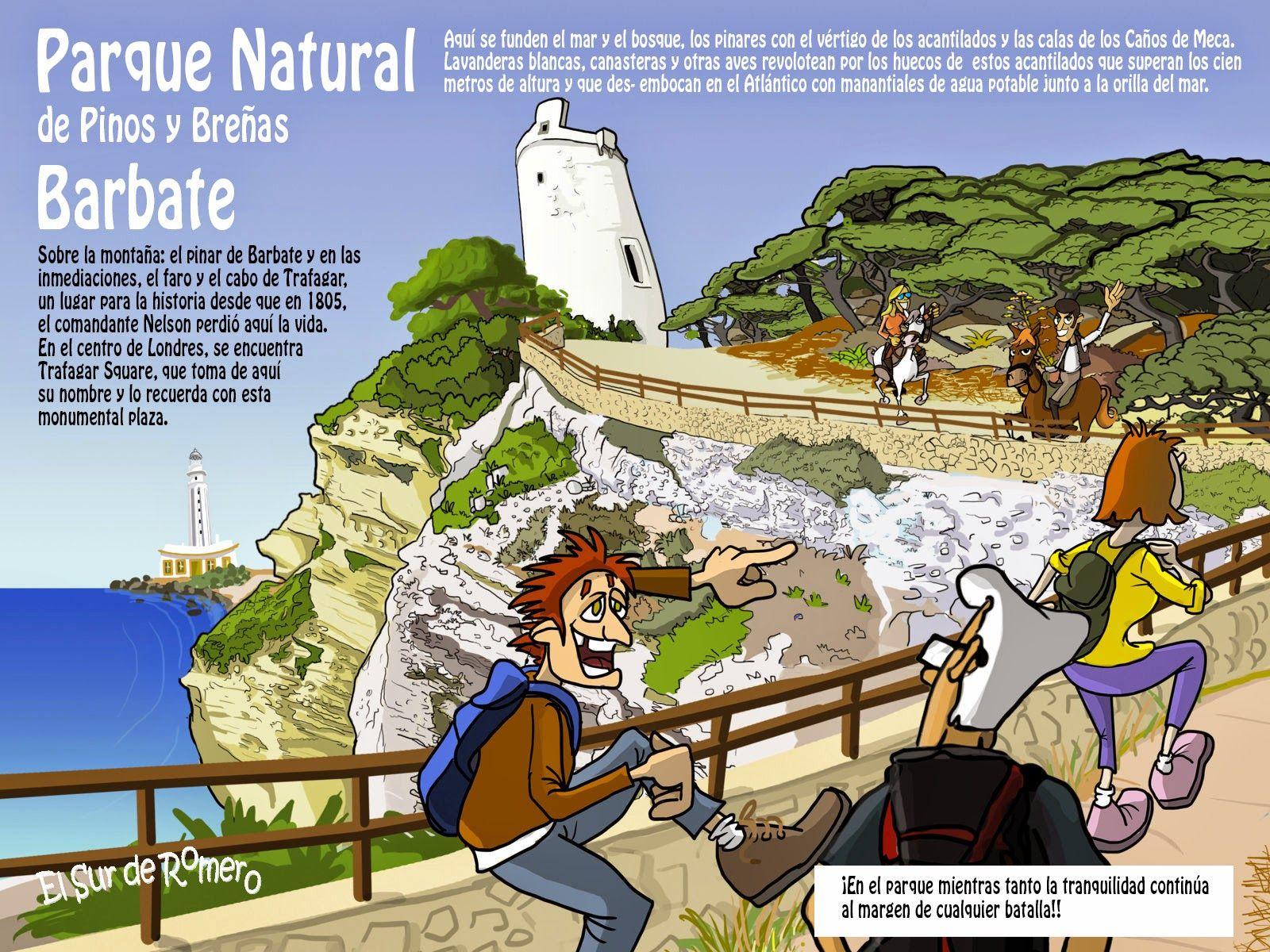Parque natural de La Breña y Marismas del Barbate. Cádiz, Andalucia ...