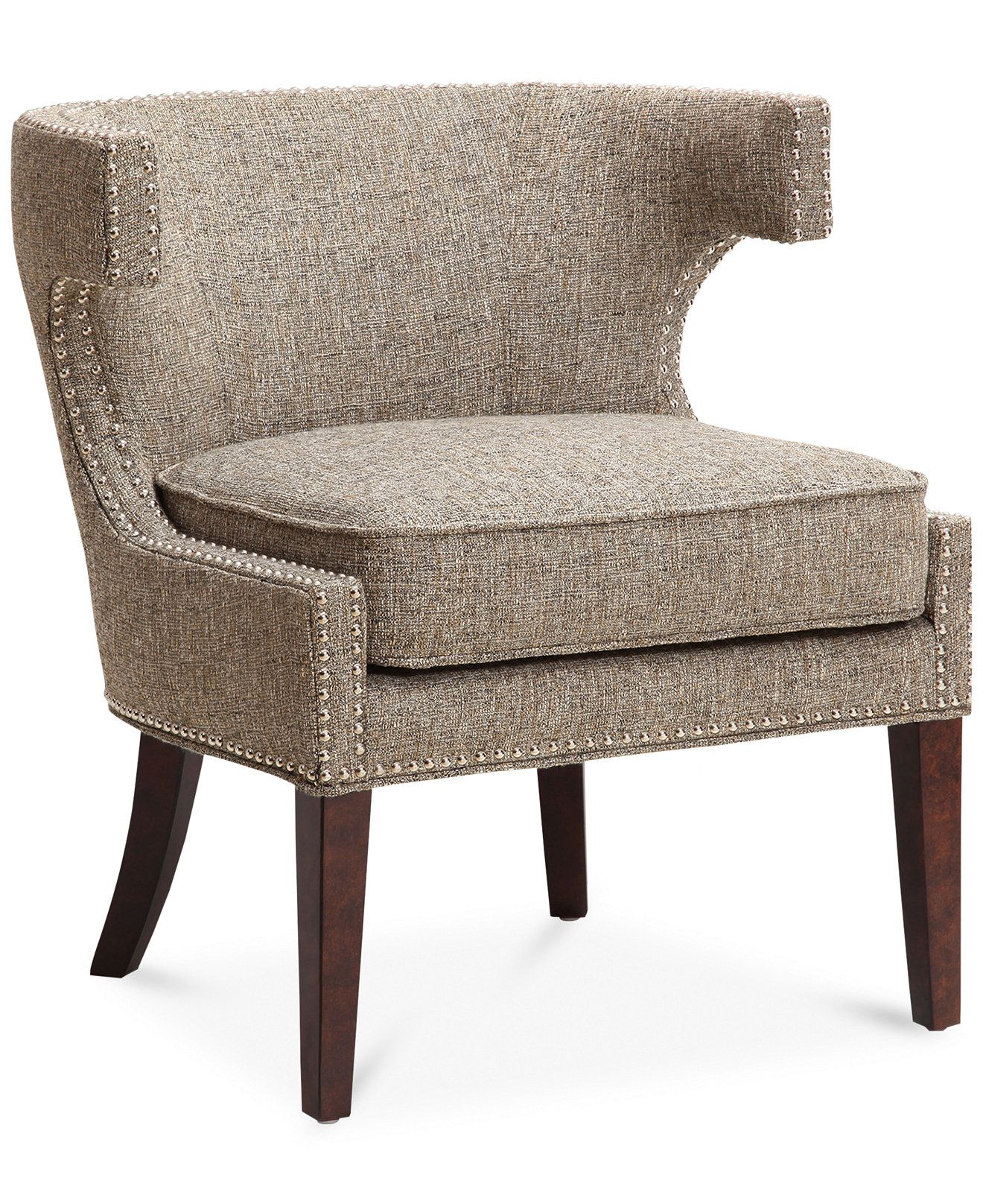 Hayden Fabric Accent Chair Direct Ship