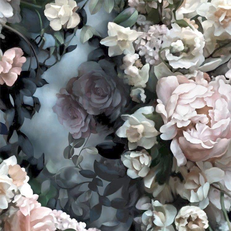 Beautiful Floral Live Wallpaper Vintage Background Pinterest
