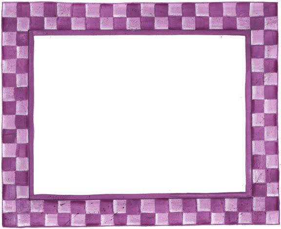 Borde De Color Violeta Para Imprimir Imprimir Sobres