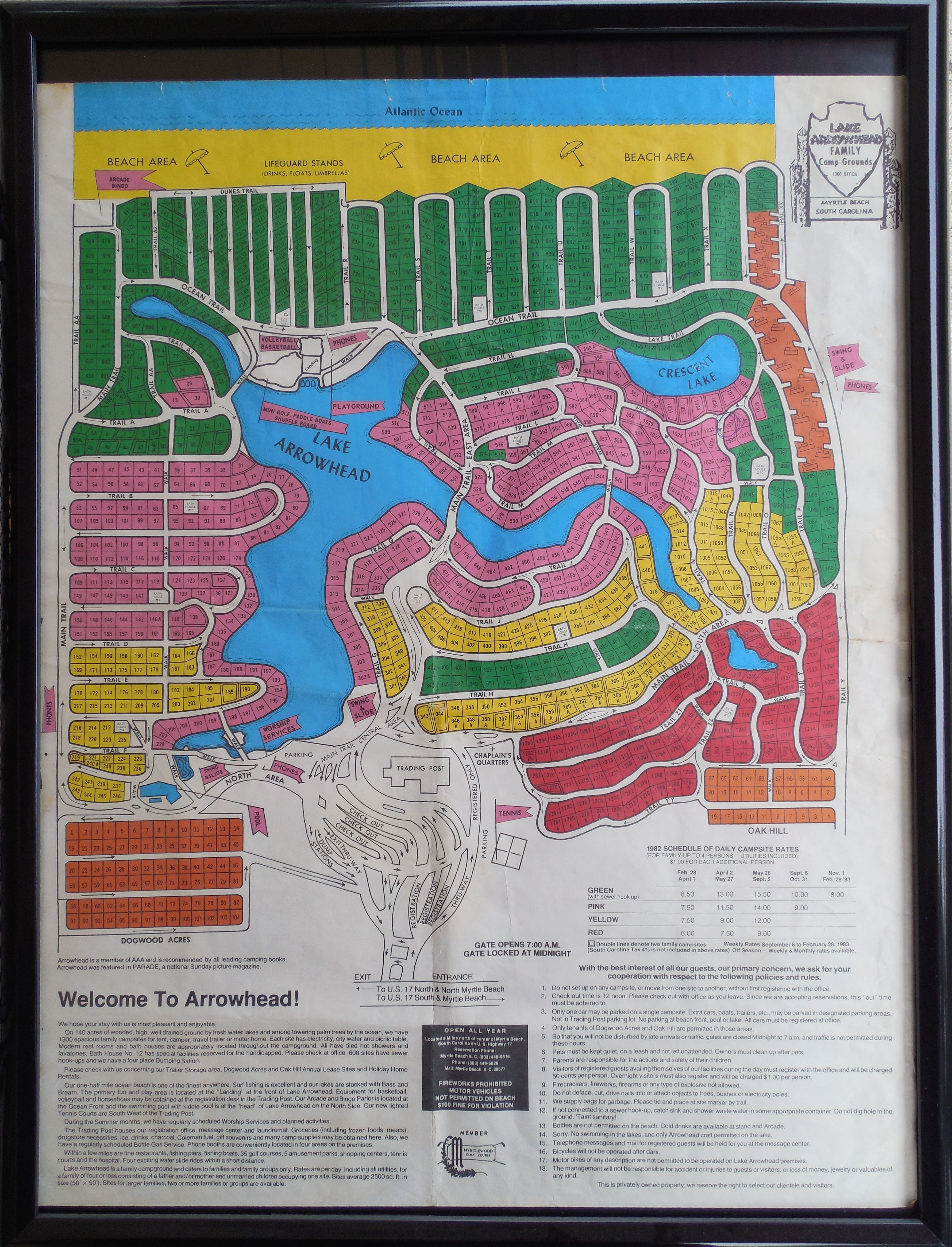 37+ Blue lake fine arts camp map information