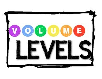 Use this fun set of posters to help control the volume level in your classroom!