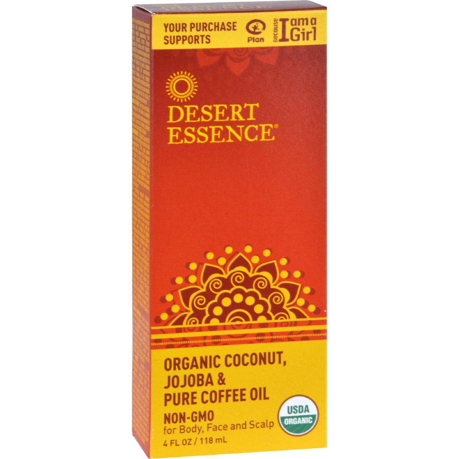 Desert Essence Coconut Jojoba And Coffee Oil Organic 4