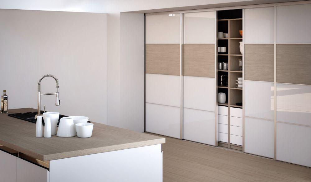 porte de placard coulissante comble pinterest cuisine. Black Bedroom Furniture Sets. Home Design Ideas
