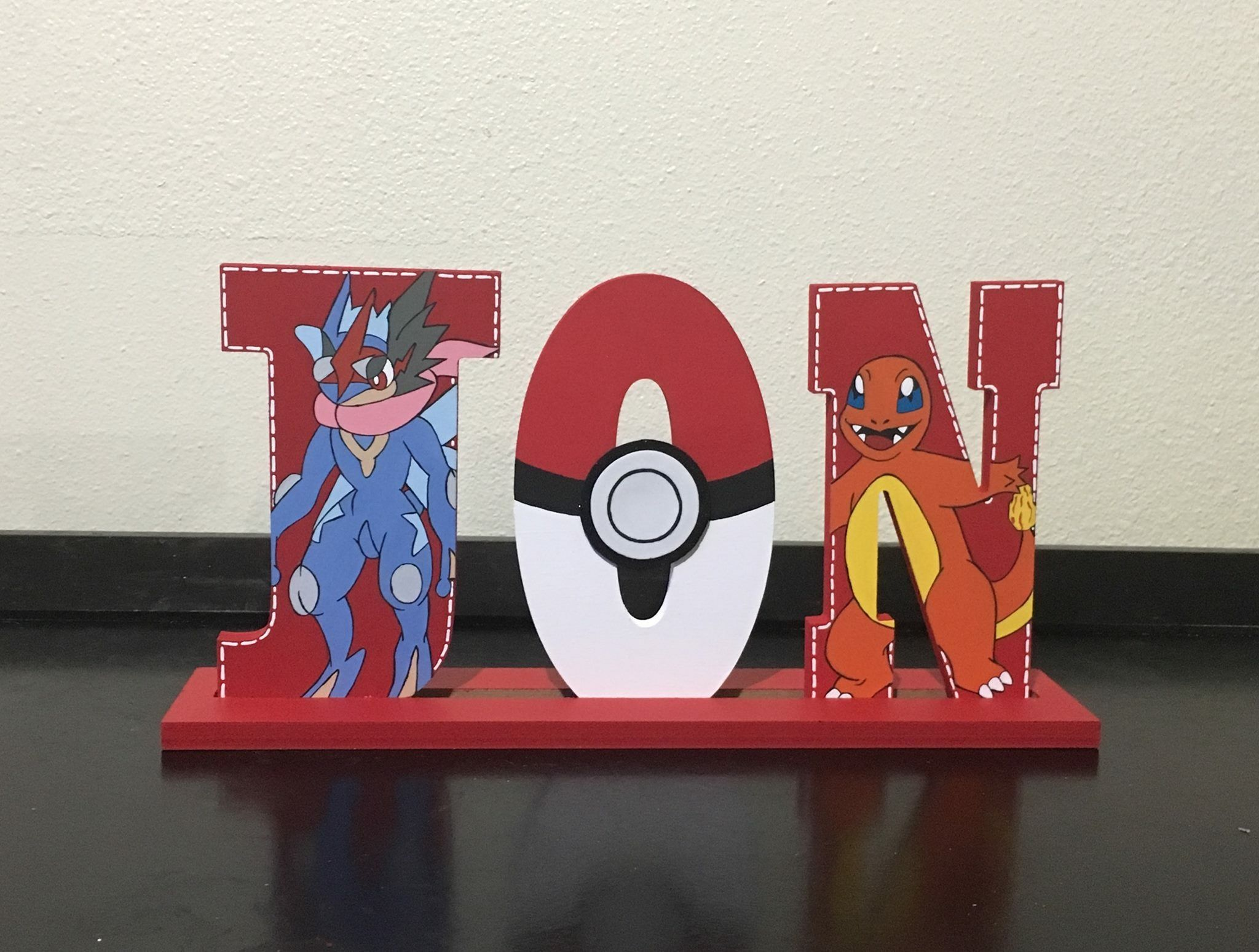 Cartoon Characters 8 Letters : Pokémon 8 inches wooden letters wood letters pinterest