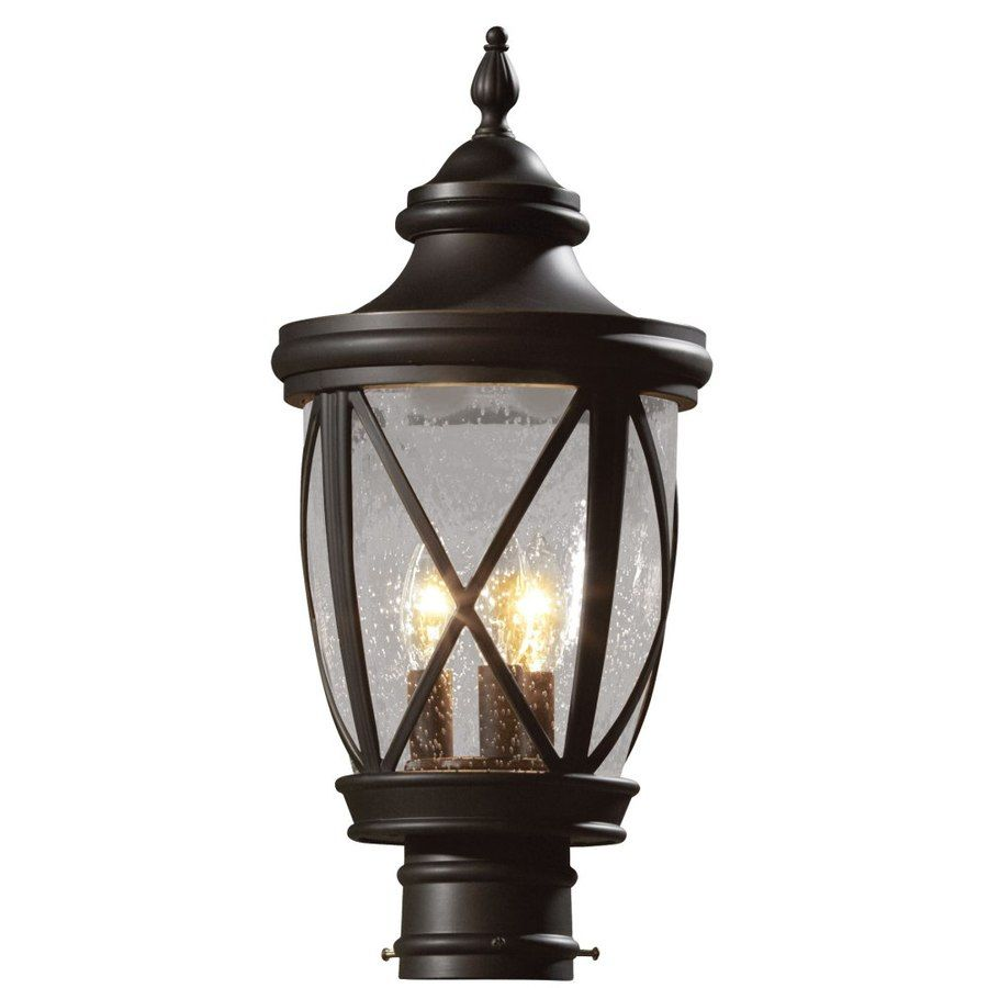 Shop allen roth castine 195 in h rubbed bronze post light at shop allen roth castine 195 in h rubbed bronze post light at lowes arubaitofo Images