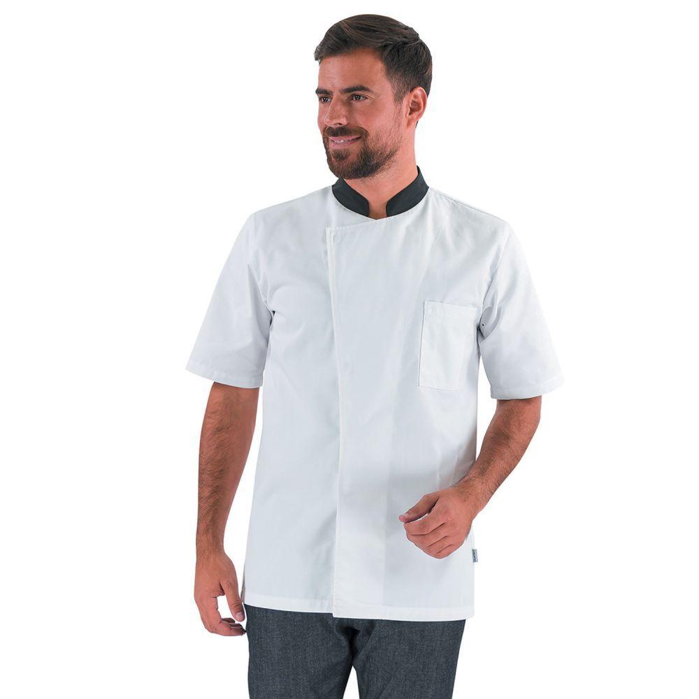Veste De Cuisine Homme Manches Courtes Turnip Lafont Veste De