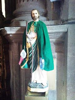 DIA De San Judas | Imágen de San Judas Tadeo en la Iglesia del Pocito en la Villa de ...