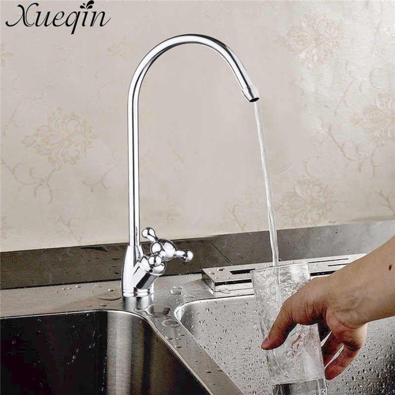 Xueqin Bathroom Basin Faucets 1 4 Reverse Osmosis Gooseneck Kitchen
