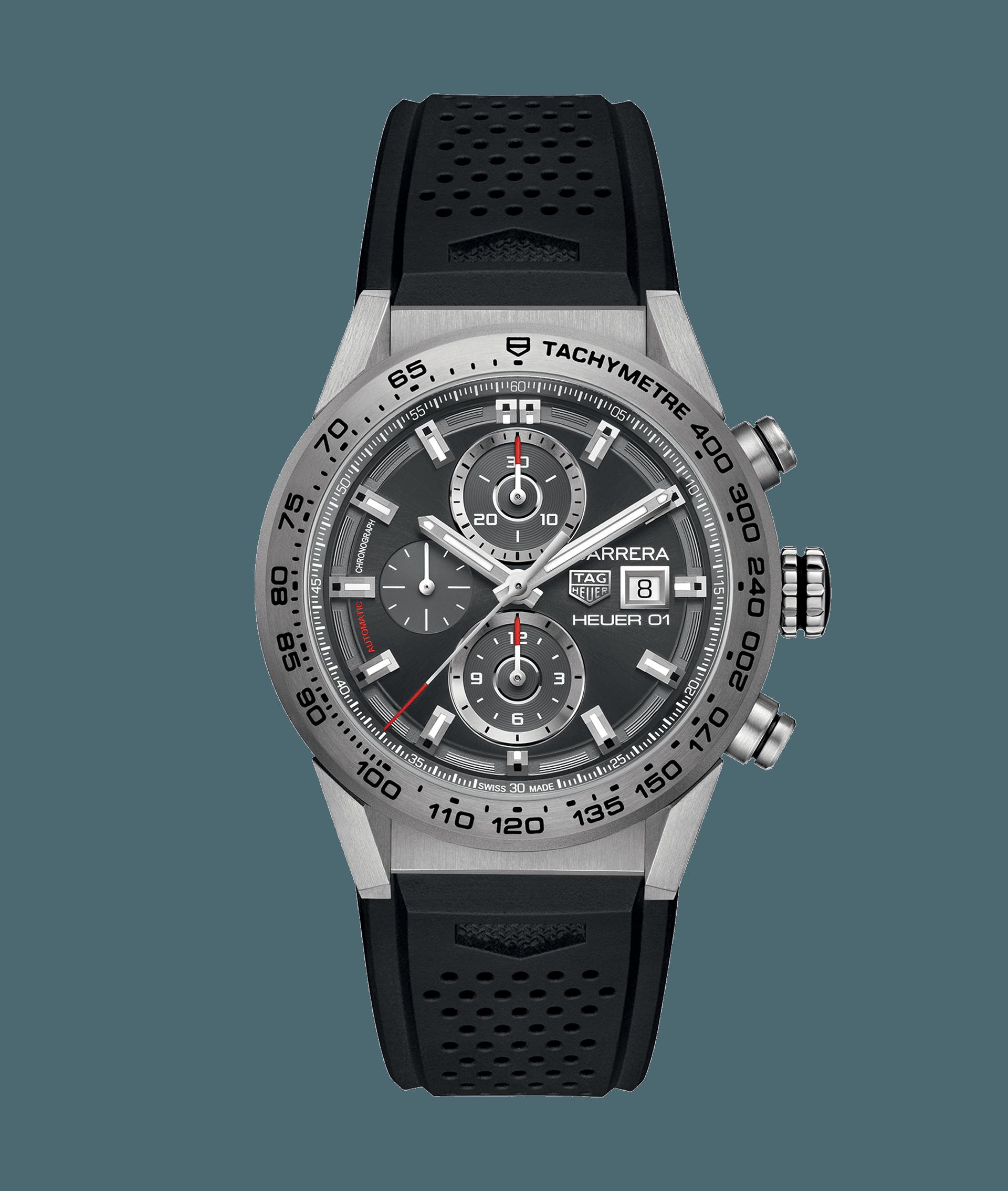 TAG Heuer Carrera Calibre Heuer 01 100 M - 43 mm CAR208Z.FT6046 Preço do  relógio TAG Heuer 0575eed0d1