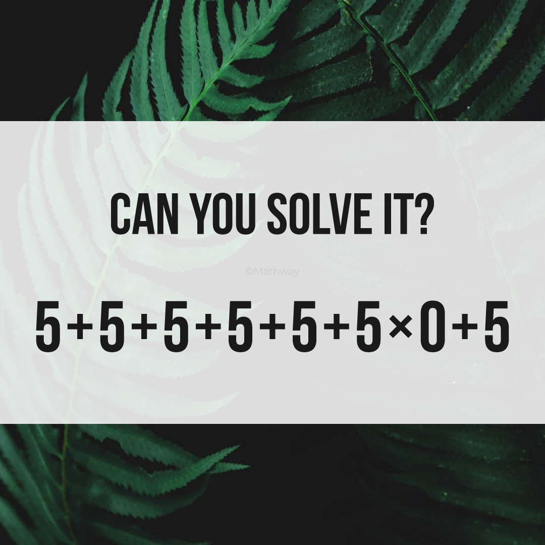 Do You Know The Correct Answer Most People Get It Wrong Algebra Problems Math Problem Solver Maths Puzzles [ 1080 x 1080 Pixel ]