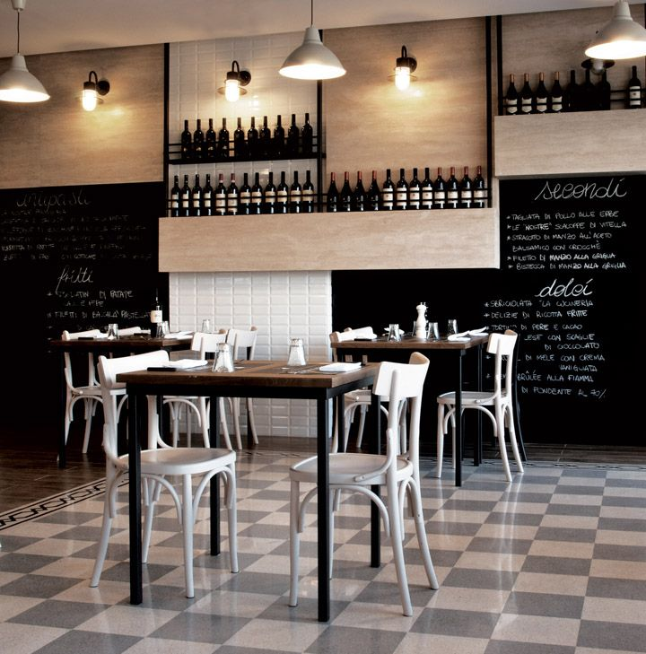 La cucineria restaurant by noses architects rome italy
