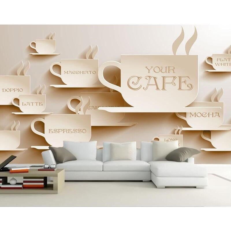 Dining Room Wallpaper 3d Your Cafe 12641329 Room Wallpaper Dining Room Wallpaper Shop Wallpaper